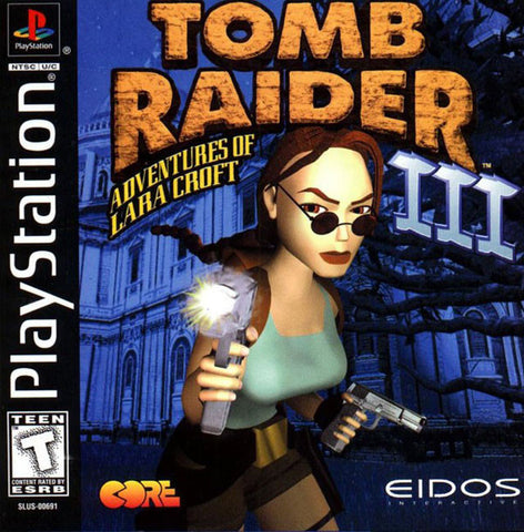 Tomb Raider 3 - Playstation