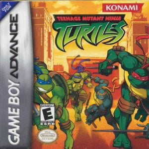 Teenage Mutant Ninja Turtles - Gameboy Advance
