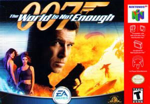 007 The World Is Not Enough - N64