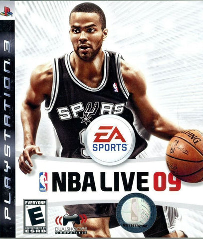 NBA Live 09 - PlayStation 3