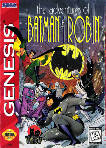 Adventures of Batman & Robin - Genesis
