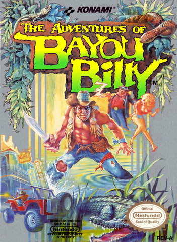 Adventures of Bayou Billy - NES