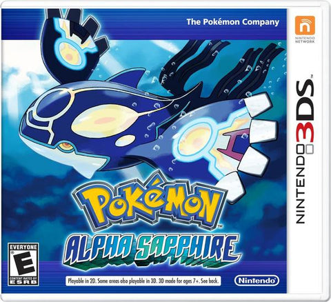 Pokemon Alpha Sapphire - Pre-Owned 3DS