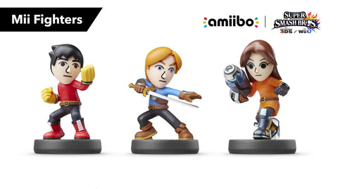 Amiibo - Mii Fighters - Pre-Owned
