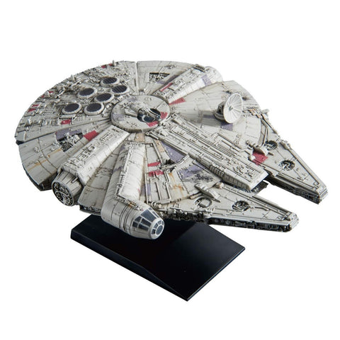 "0015 Millennium Falcon (Empire Strikes Back Ver.) ""Star Wars"" Bandai Star Wars Vehicle Model 1/350"