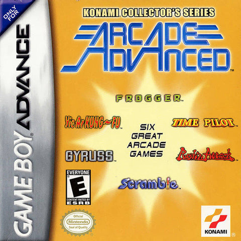 Konami Collector's Series: Arcade Advanced - Gameboy Advance