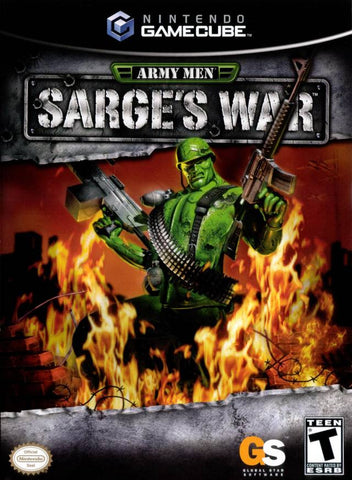 Army Men Sarge's War - Gamecube