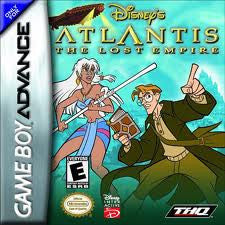 Atlantis The Lost Empire - Gameboy Advance