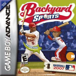 Backyard Sports: Baseball 2007 - Gameboy Advance