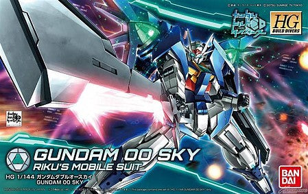 "#14 Gundam 00 Sky ""Build Divers"", Bandai HGBD 1/144"