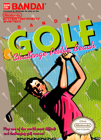 Bandai Golf Challenge Pebble Beach - NES
