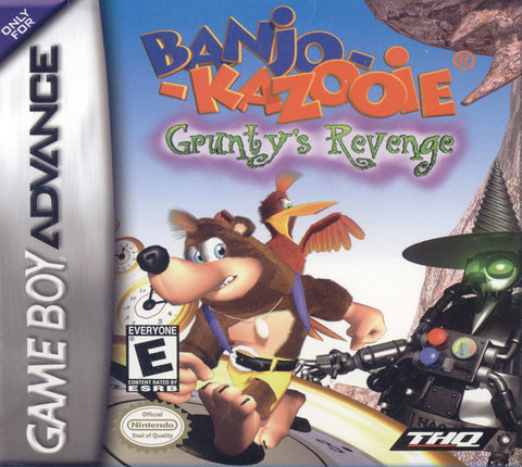Banjo Kazooie Grunty's Revenge - Gameboy Advance