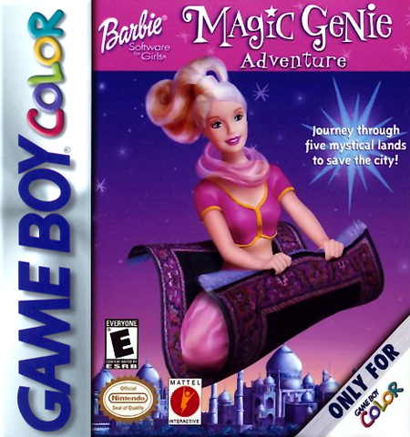 Barbie Magic Genie Adventure - Gameboy Color