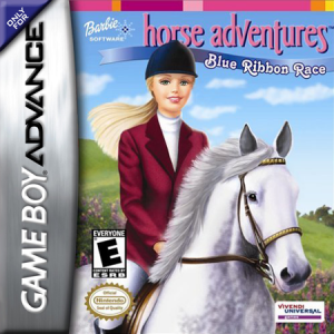 Barbie Horse Adventures Blue Ribbon Race - Gameboy Advance