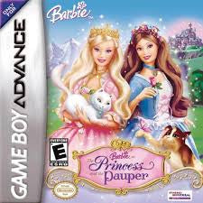 Barbie Princess and the Pauper - Gameboy Advance