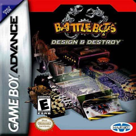 Battlebots Design & Destroy - Gameboy Advance