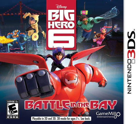 Big Hero 6: Battle in the Bay - Pre-Owned 3DS