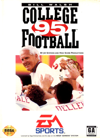 Bill Walsh College Football 95 - Genesis