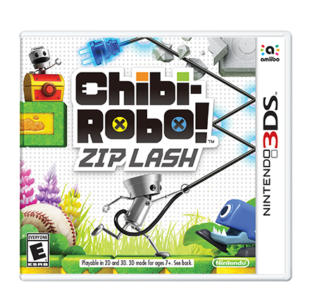 Chibi-Robo Zip Lash - Pre-Owned 3DS