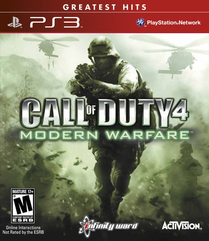 Call of Duty 4: Modern Warfare - Pre-Owned Playstation 3