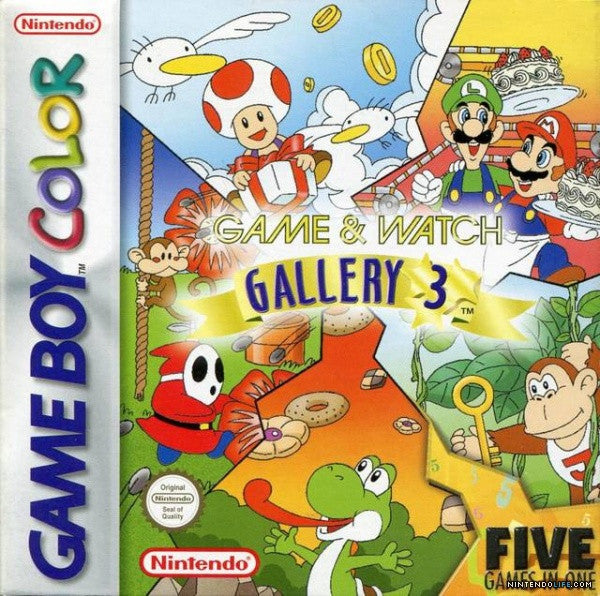 Game & Watch Gallery 3 - Gameboy Color