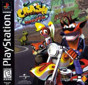Crash Bandicoot 3: Warped - Playstation