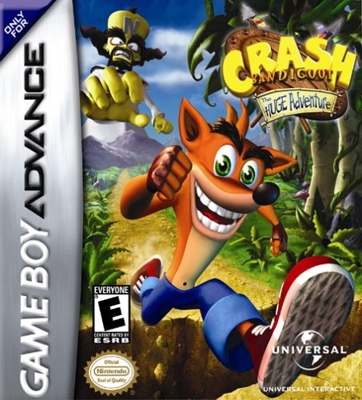 Crash Bandicoot The Huge Adventure - Gameboy Advance