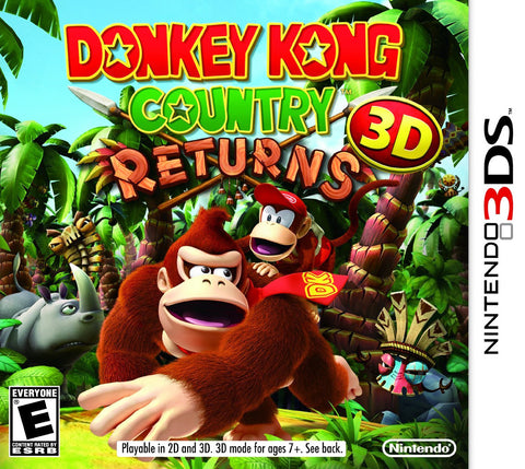 Donkey Kong Country Returns 3DS - Pre-Owned 3DS