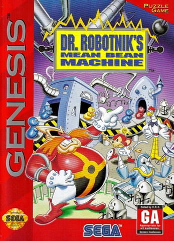 Dr. Robotnik's Mean Bean Machine - Genesis