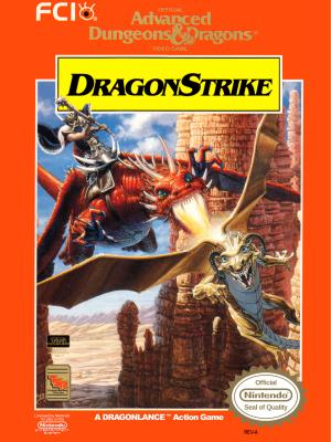 Advanced Dungeons & Dragons: Dragon Strike - NES