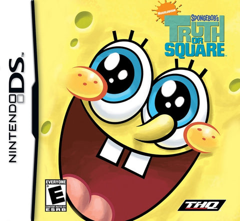 Spongebob's Truth or Square - DS