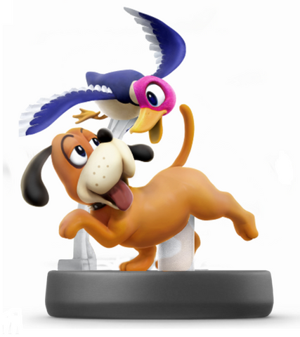 Amiibo - Duck Hunt Dog - Pre-Owned