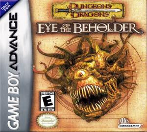 Dungeons & Dragons: Eye of the Beholder - Gameboy Advance