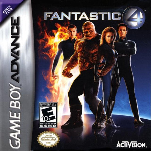 Fantastic Four - Gameboy Advance