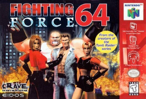 Fighting Force 64 - N64