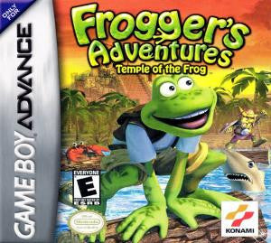 Frogger's Adventures: Temple of the Frog - Gameboy Advance