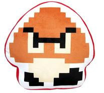 "8-Bit Goomba 12.5"" Plush Pillow"