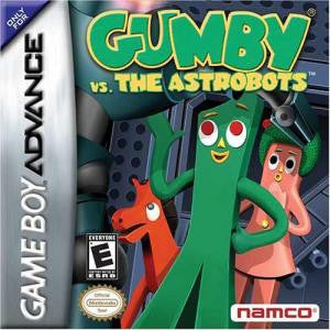Gumby vs the Astrobots - Gameboy Advance