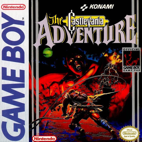 Castlevania Adventure - Gameboy