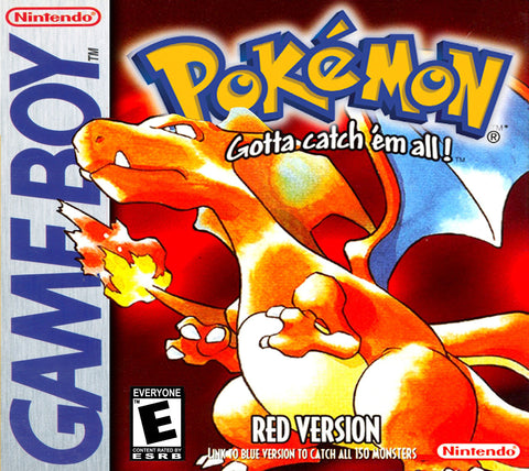 Pokemon Red - Gameboy