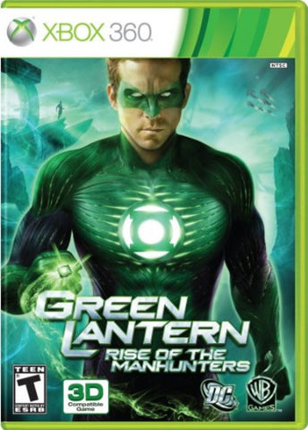 Green Lantern: Rise of the Manhunters - Pre-Owned Xbox 360