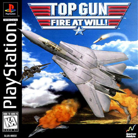 Top Gun Fire At Will - Playstation