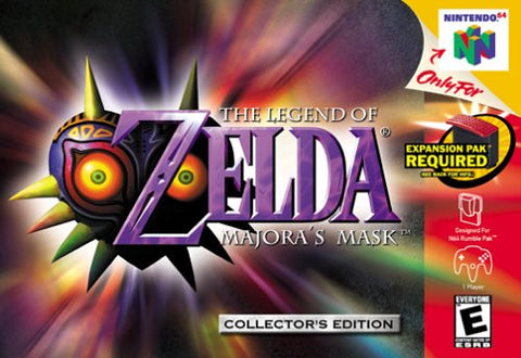 Legend of Zelda: Majora's Mask - N64