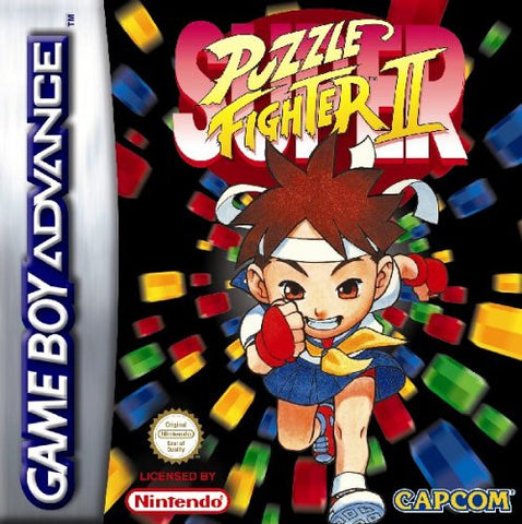Super Puzzle Fighter 2 - Gameboy Advance