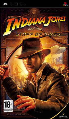 Indiana Jones and the Staff of Kings - PSP