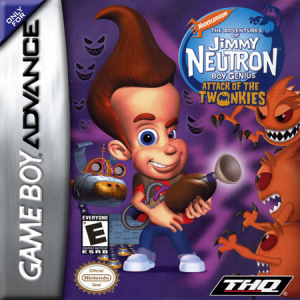 Jimmy Neutron Attack of the Twonkies - Gameboy Advance