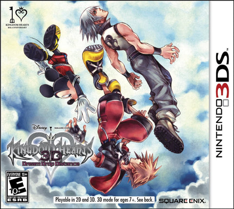 Kingdom Hearts: Dream Drop Distance - Pre-Owned 3DS