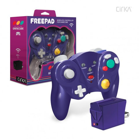"""Free Pad"" Wireless Controller for Gamecube - Cirka"