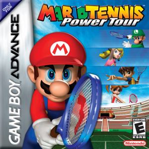 Mario Tennis Power Tour - Gameboy Advance