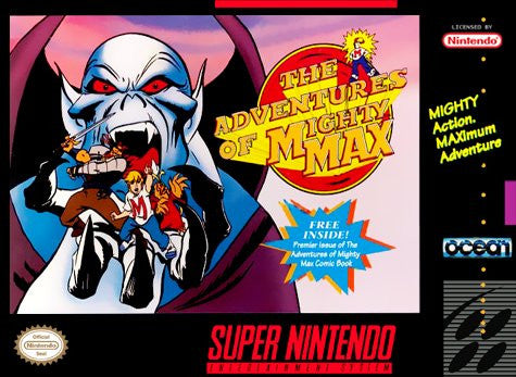 Adventures of Mighty Max - SNES